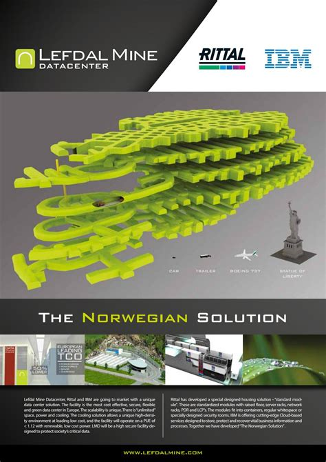 Lefdal Mine - The Norwegian Solution by Frequency Norge