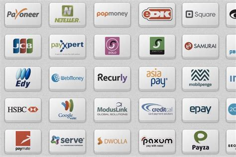 27 Free Credit Card Icon Sets for Online Web Shops