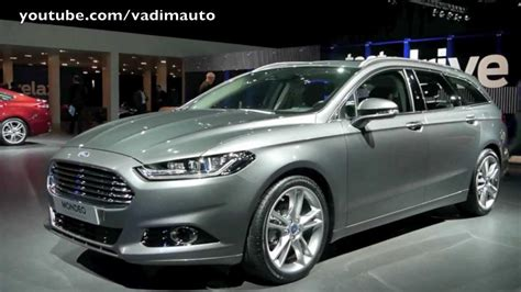 New Ford Mondeo, Wagon and Hybrid - YouTube