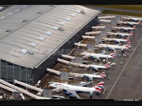"""London Heathrow Airport LHR - EGLL"""" Europe's Largest And"""