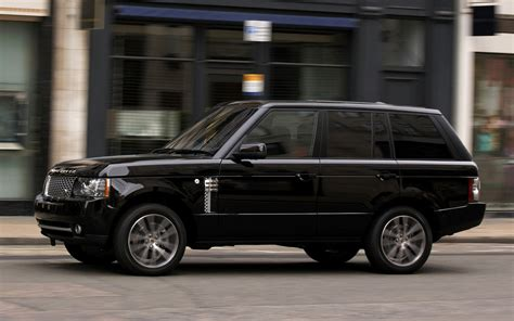 2010 Range Rover Autobiography Black (UK) - Wallpapers and