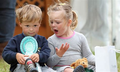Queen Elizabeth's great-granddaughter Mia Tindall's cutest