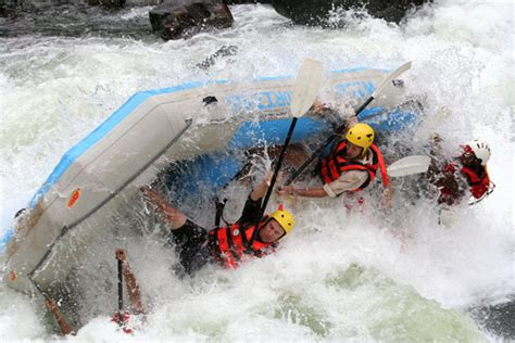 Victoria Falls White Water Rafting - High or Low water