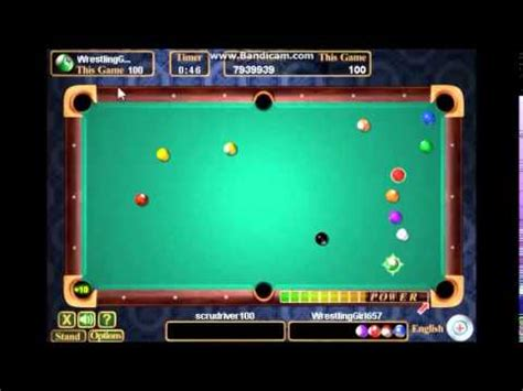 Pogo High Stakes Pool ~ 8 Ball Best of 3 #1 - YouTube