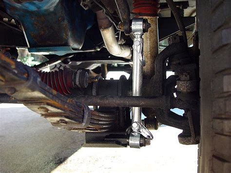 Rubicon Express Swaybar Quick Disconnects for Jeep CJ