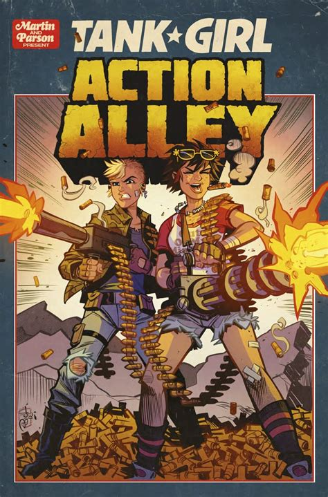 Comic Book Preview - Tank Girl: Action Alley #3