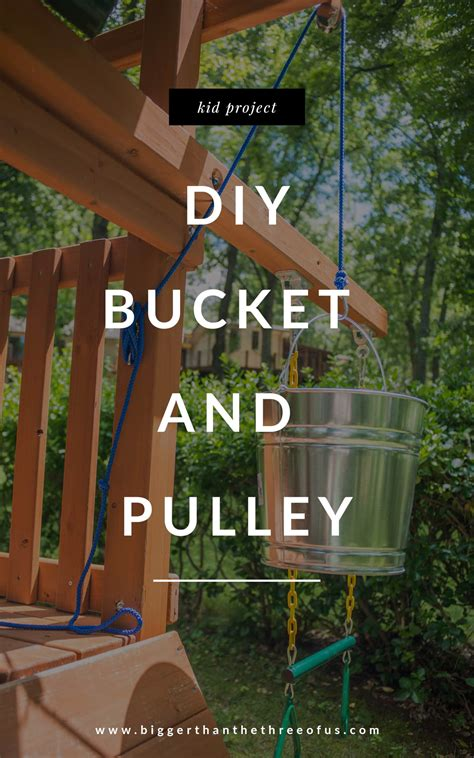 How To Add a Bucket and Pulley to a Playset - Bigger Than