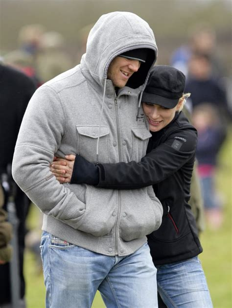 Zara Phillips and Mike Tindall PDA Pictures | POPSUGAR
