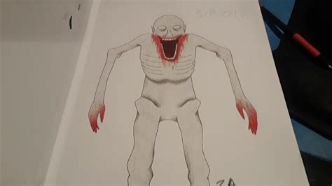 SCP-096 Drawing - YouTube