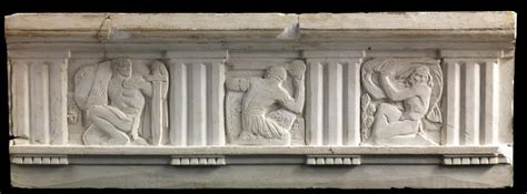 (Metope study for Postal Administration Building) Three